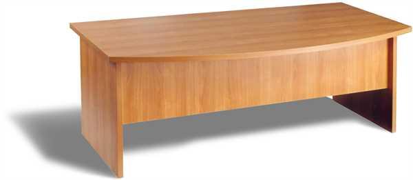 Chefbüro-Schreibtisch, 200 x 80/100 x 75 cm