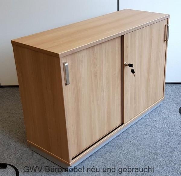 SM - Sideboard 2 OH, B 120 cm, Nussbaum
