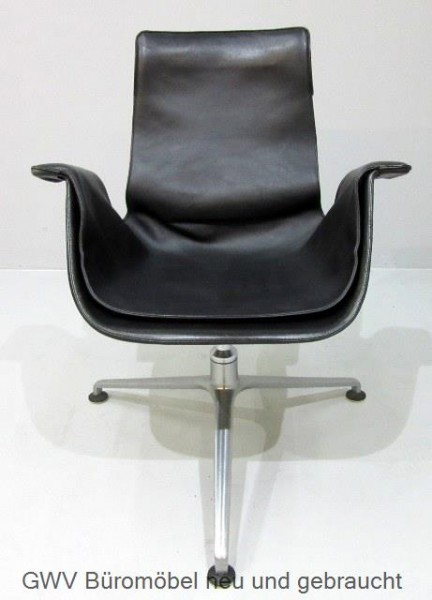 Kill International - Vintage Sessel Tulip- schwarz