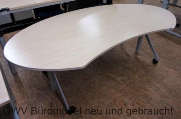Werndl - Steh- Sitz- Schreibtisch 220 cm, ahorn