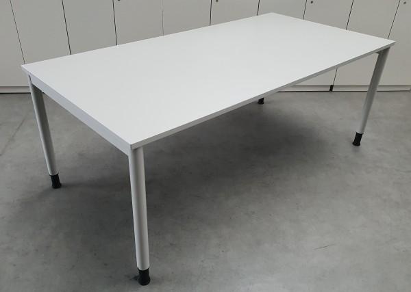 Steelcase - Besprechungstisch 200 cm, lichtgrau