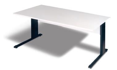 Schreibtisch B 120 cm, grau