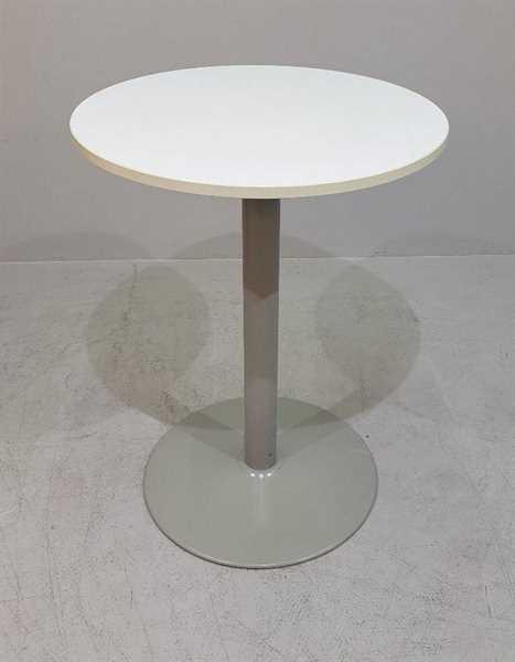 K & N - Besprechungstisch/Stehtisch D 80 cm, weiß