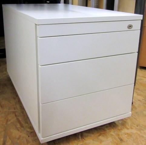 CEKA - Rollcontainer T 80 cm, lichtgrau