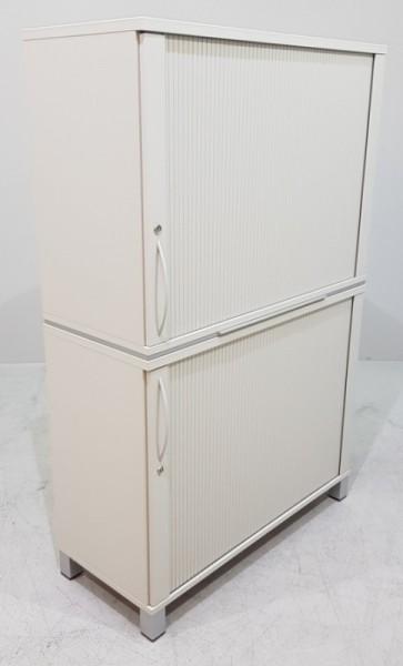 K & N - Querrolloschrank 4 OH, B 100 cm grau