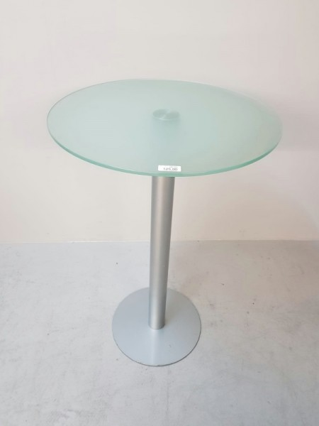 Bistro - Glastisch - Stehtisch D 70 cm