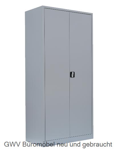 Stahl- Akten- Schrank 5 OH, B 92 x T 42 cm