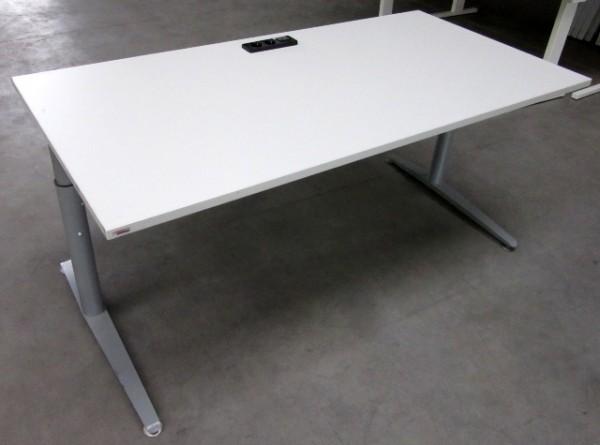 Steelcase - Schreibtisch 160 cm HV, altweiß