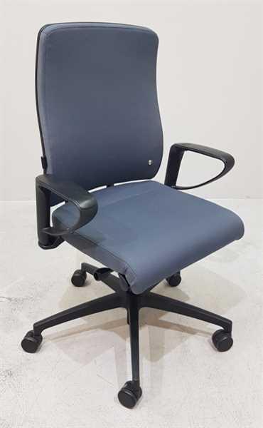 Interstuhl YOS / Y152- Bürodrehstuhl grau