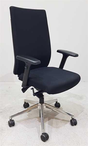 Kinnarps - Bürodrehstuhl schwarz