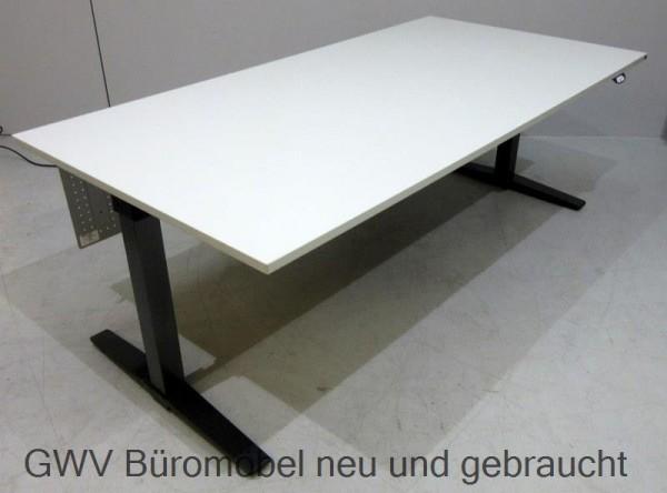 K & N - Steh- Sitz- Schreibtisch 180 x 80 cm, grau