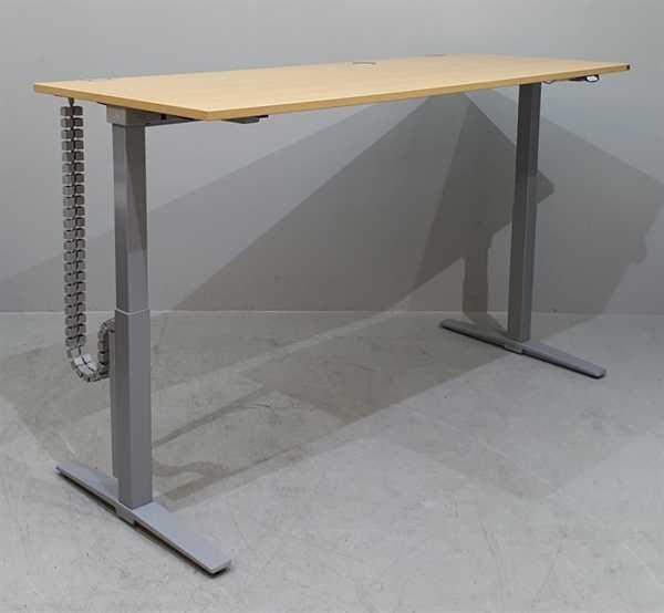 K & N - Steh-Sitz-Schreibtisch 180cm, buche Talo.S