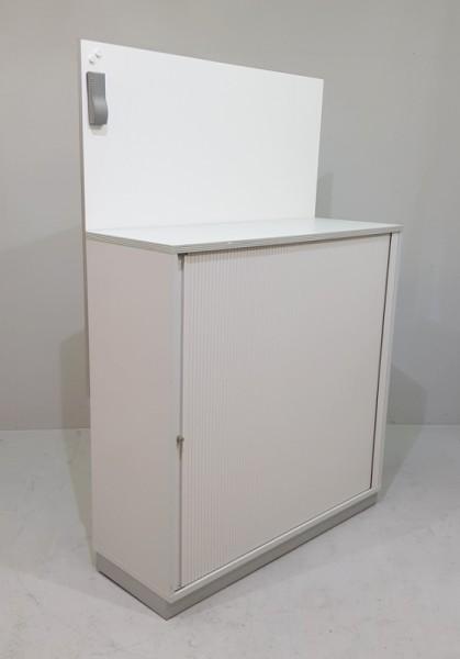 CEKA - Querrolloschrank 3 OH, B 120 cm + Whiteb