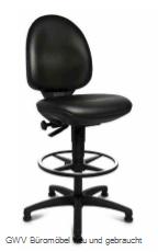 Arbeits-Drehstuhl m. Rückenlehne - Counter Version