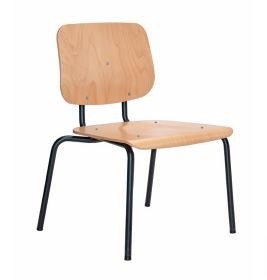 Holzschalenstuhl in komfort Breite, bis 250 kg