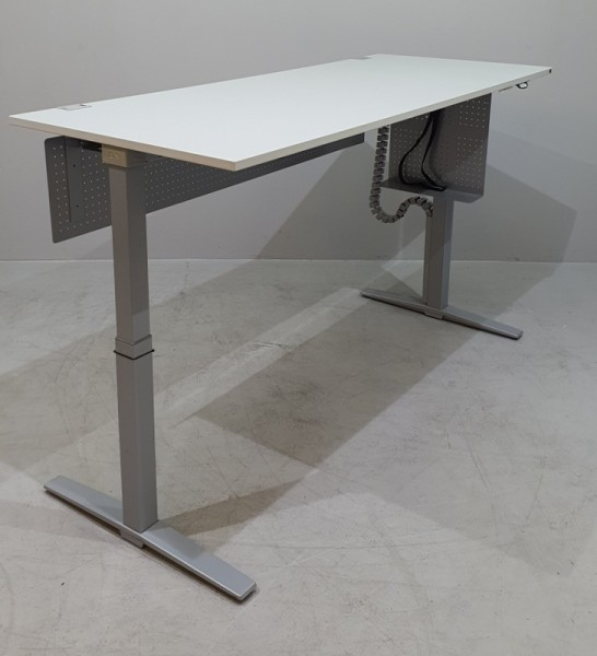 K & N - Steh-Sitz-Schreibtisch 200x100 cm, Talo.S