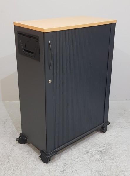 K & N - Mobiler Aktendiener, B 80 cm Birnbaum