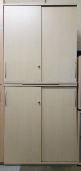 K & N - Schiebetürenschrank 6 OH, B 100 cm ahorn