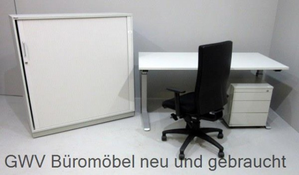 SET 4-teilig- Tisch 160 cm + Cont + SB-3OH + Stuhl
