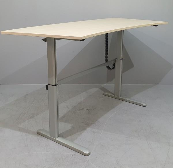 CEKA - Steh- Sitz- Schreibtisch, Bogenform