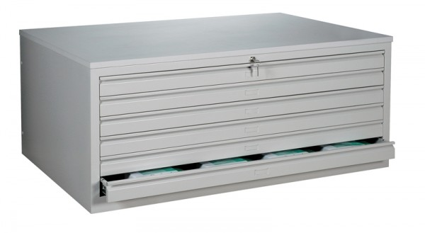 Stahl- Zeichnungs- Schrank, DIN A 0