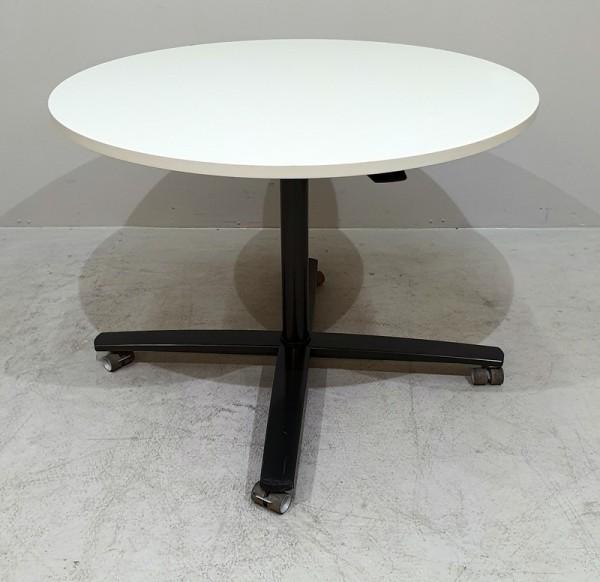 CEKA - Steh-Sitz-Besprechungstisch D 100 cm, grau