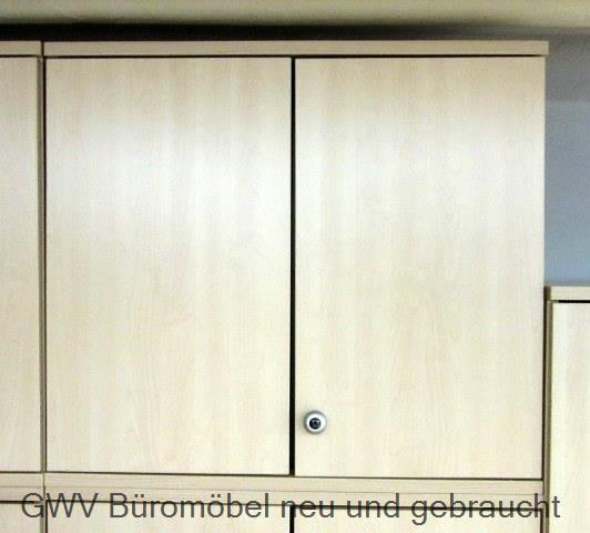 Werndl - Aufsatzschrank 2 OH, B 80 cm ahorn