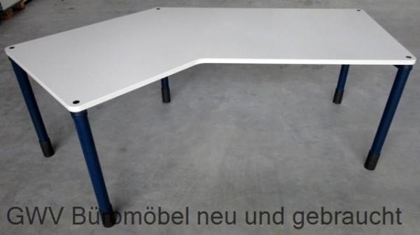 Werndl - Freiform- Schreibtisch grau, Links