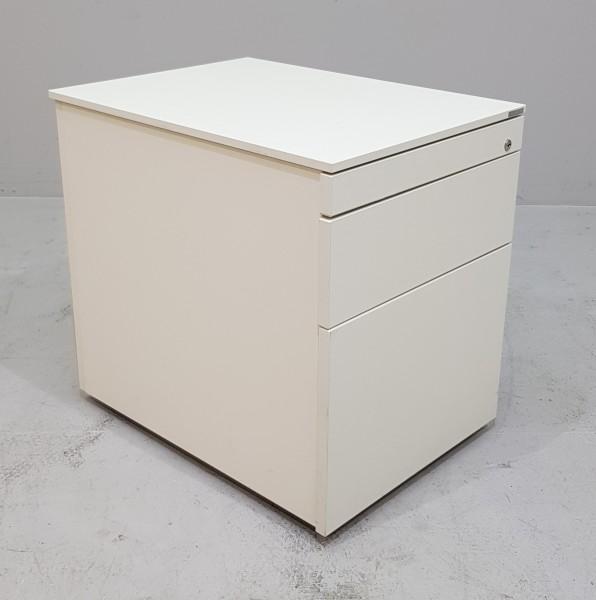 Vario - Rollcontainer T 60 cm, weiß