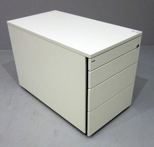 Büro BENE Rollcontainer Buche mit chrom