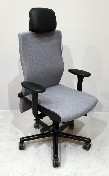Löffler - LEZGO 73 Bürodrehstuhl/ Kopf/ grau