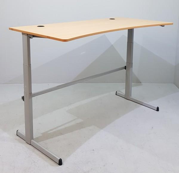 Steelcase - Steh- Sitz- Schreibtisch 180 cm Ergo