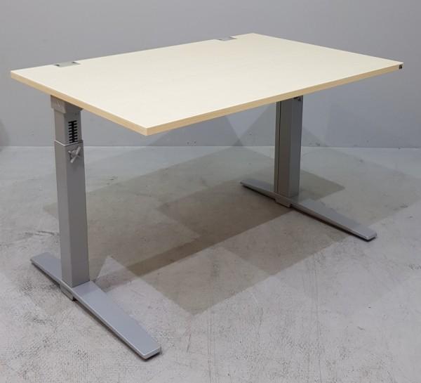 K & N - Schreibtisch 120 cm, ahorn