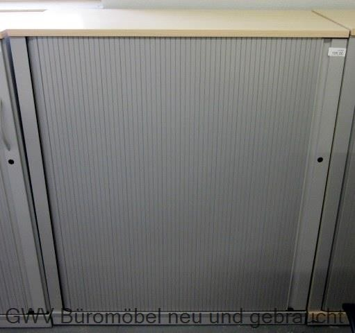 Werndl - Querrolloschrank 3 OH, B 100 cm ahorn