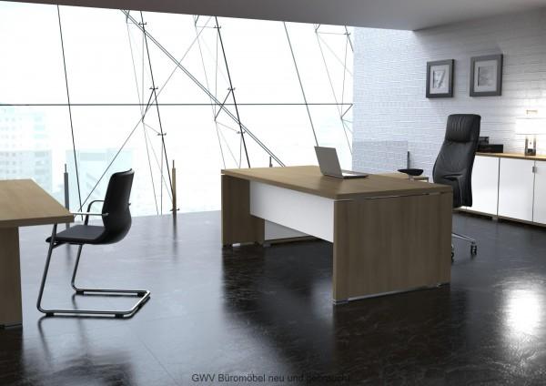 TK - Chefzimmer komplett, 5-teilig, Akazie dunkel