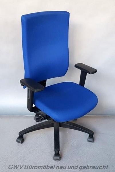 Dauphin magic - Bürodrehstuhl blau MEMO LESEN