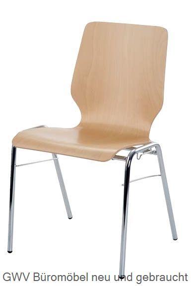 besucherstuhl holz stapelstuhl kantinenstuhl g nstig online kaufen gwv shop n rnberg b rom bel. Black Bedroom Furniture Sets. Home Design Ideas