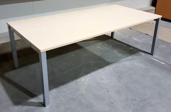 K & N - Besprechungstisch 200 x 100 cm, ahorn