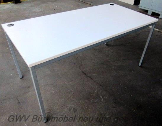K & N - Schreibtisch 160 cm, weiß