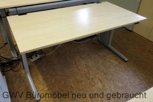 Werndl - Steh- Sitz- Schreibtisch 160 cm, ahorn