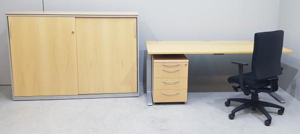 K & N - SET Tisch + Container + Schrank