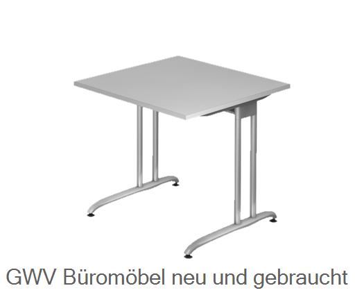 Schreibtisch 80 x 80 cm