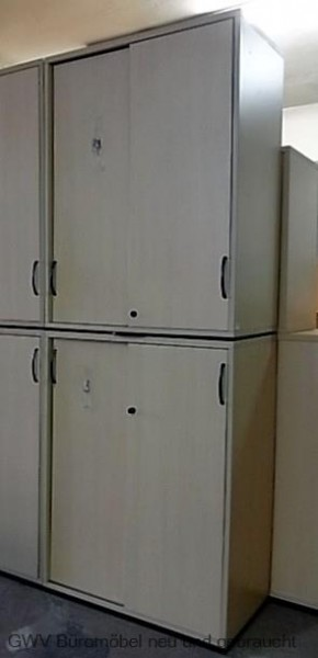 Schärf - Schiebetürenschrank 6 OH, B 80 cm buche