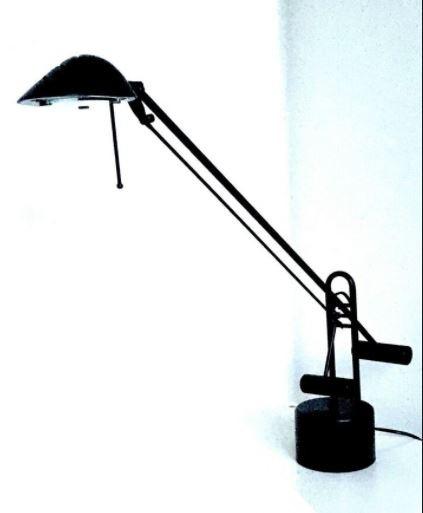 Schreibtischlampe / Tischleuchte ALCO schwarz
