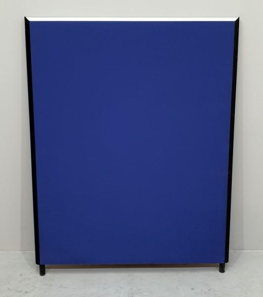 Trennwand / Sichtschutzwandd B 120 x H 130 cm, blau