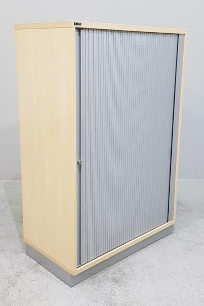 CEKA - Querrolloschrank 3 OH, B 80 cm ahorn