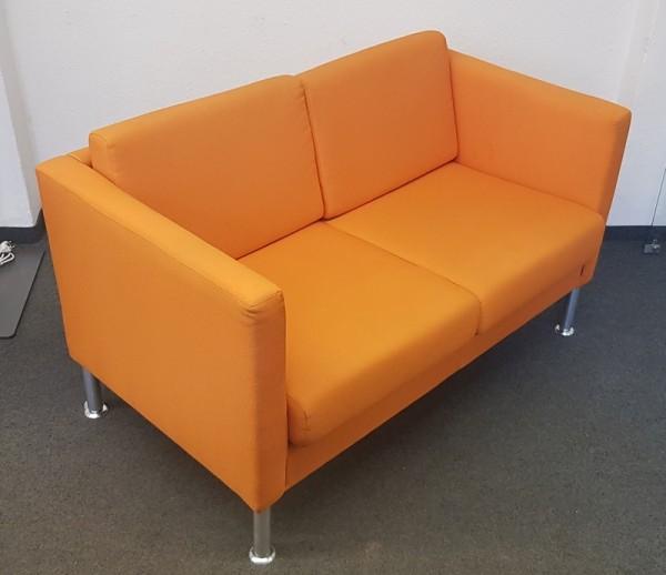 SMV - Sofa 2-sitzer B 130 cm orange