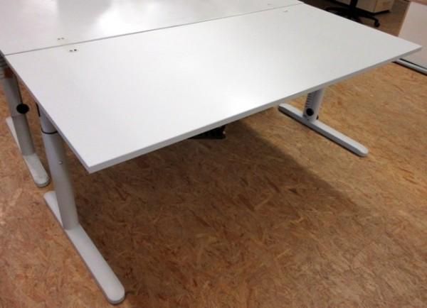 CEKA - Schreibtisch 160 x 80 cm, grau