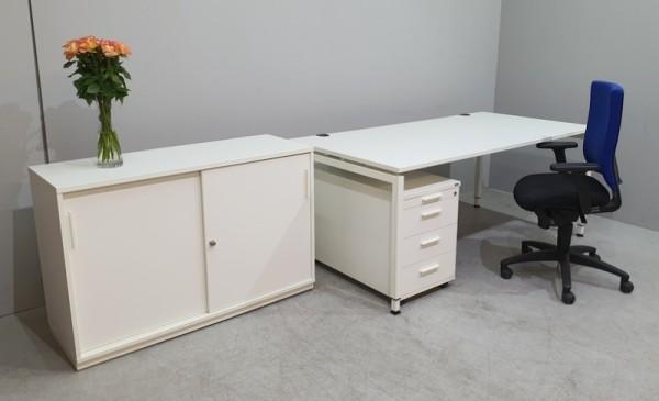 Febrü - Schreibtisch + Cont. + Sideboard + Stuhl