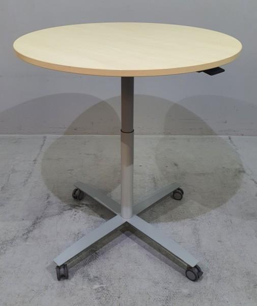 CEKA - Steh-Sitz- Besprechungstisch D 100 cm ahorn
